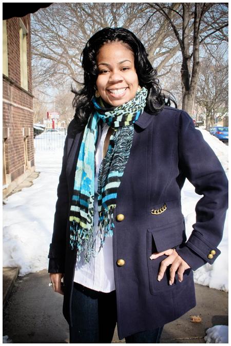 Anne Taylor Wool Coat